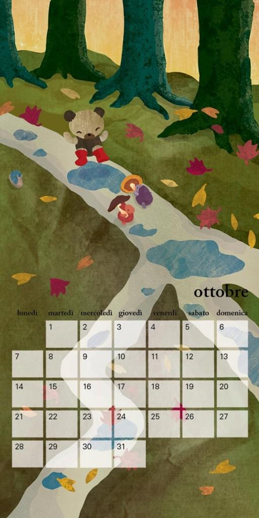 Calendar-1-October-Little-Cloud