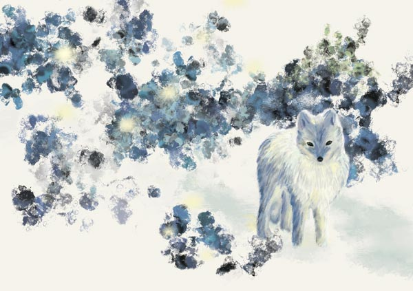 Greeting-Card-2-Arctic-Fox-Little-Cloud